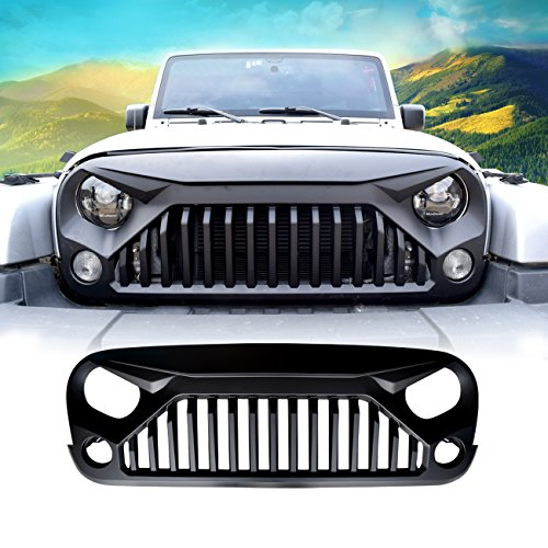 Painting Front Grill With Matte Black