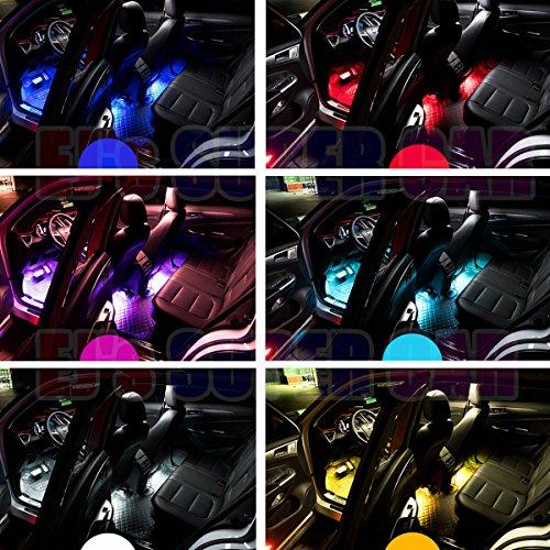 car led strip light ej 39 s super car 4pcs 36 led multicolor music car interior light led under. Black Bedroom Furniture Sets. Home Design Ideas